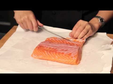 Knife Cut: Cleaning and Preparing Salmon