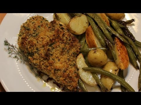 Herb Breaded Chicken Breasts - Recipe with Michael's Home Cooking