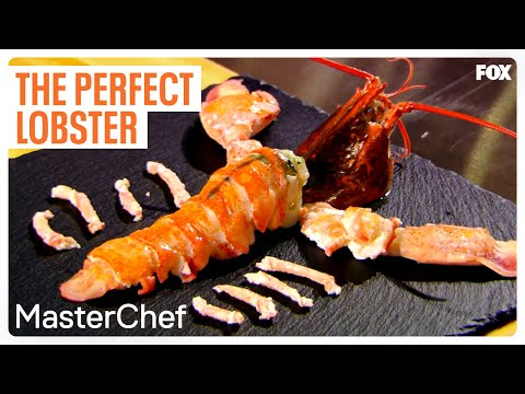 Gordon Ramsay Demonstrates How To Cook The Perfect Lobster | Season 7 Ep. 6 | MASTERCHEF
