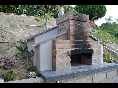 Wood fired pizza oven construction. How I built my barrel oven
