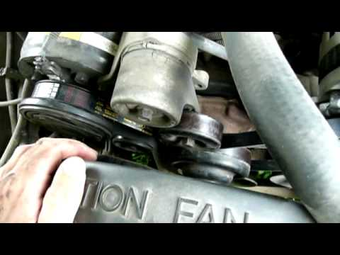 Fixing The Serpentine Belt - 1994 Chevrolet C1500