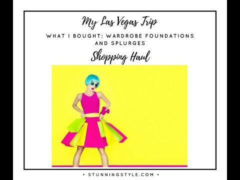Las Vegas Shopping Haul Part 1 - Wardrobe Basics