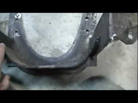 Demolition derby tech, Small block Chevy cradles. Part 1