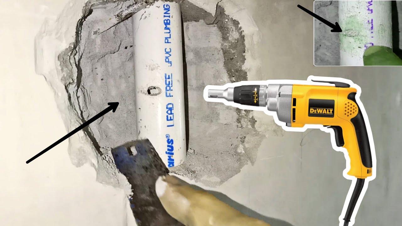 #PlumbingKnowledge Easy way to repair leakage in plumbing part 2