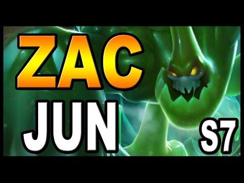 👍 ZAC JUNGLA S7 | Runas y Objetos/Build | Guía | 👉 ZAC S8 (En la descripción) 👈