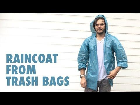 Raincoat from Plastic Bags (easy DIY)