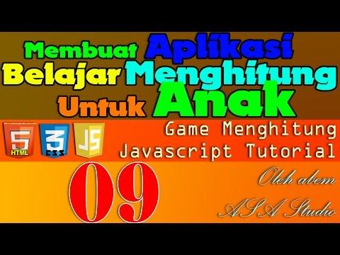 Javascript Game Tutorial, Membuat Aplikasi Belajar Menghitung Untuk Anak 9 Mengecek Fungsi Selesai