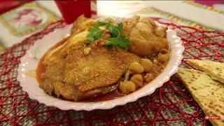 chtitha poulet (nafess) شطيطحة جاج او شطيطحة النافس