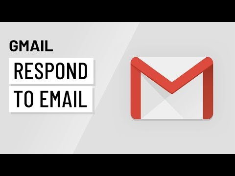 Gmail: Responding to Email with Gmail