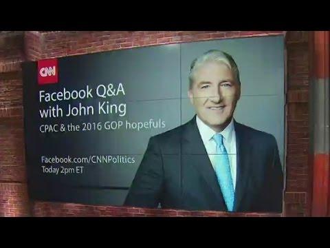 John King hosts live Facebook chat
