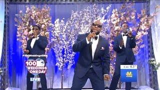 Download Wanya Morris & Boyz II Men Performed On #100WeddingsGMA #DWTS Video