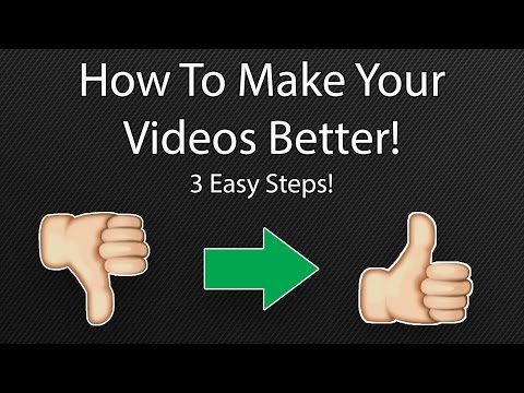Why Your Videos Suck And How To Fix Them Pt. 1
