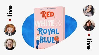 Download RED, WHITE & ROYAL BLUE LIVE SHOW | #BooksWithFriends Book Club Video