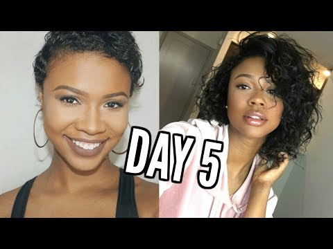#HAIRWEEK SPRING EDITION DAY 5: BIG CHOP NATURAL HAIR UPDATE AFTER 1 YEAR