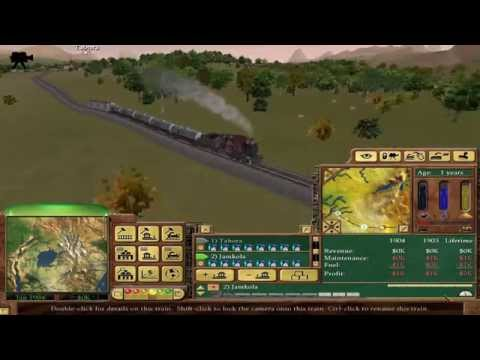 Railroad Tycoon 3 - 12 - Africa (Gold Medal)