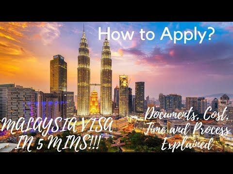 MALAYSIA VISA Confirm in 5 Mins ! Process, Documents, Cost, Time