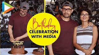 Aamir Khan Interacts with Media on His Birthday, Announces his Next Film - Laal Singh Chadha