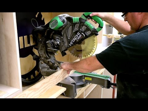 Adjusting A Miter Saw For Accurate Cuts
