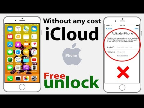 Permanently unlock ✔️ how to iCloud activated lock iPhone iOS 11