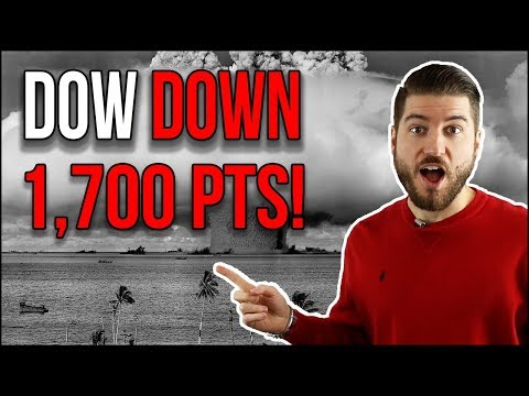 THE DOW DROPS 1175 POINTS! | What Should You Do?
