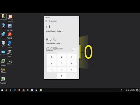 Use Calculator As a Live Currency Converter
