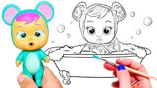 Dibujos Para Colorear De Bebes Llorones Www Imagenesmy Com