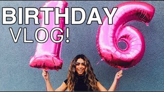 Download 16TH BIRTHDAY VLOG! #sweet16 Video