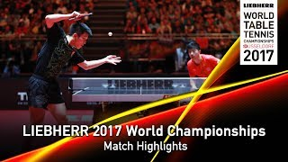 2017 World Championships   Highlights MA Long vs. FAN Zhendong (Final)