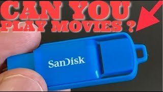 How To Play Movies From A USB Flash Drive On A TV