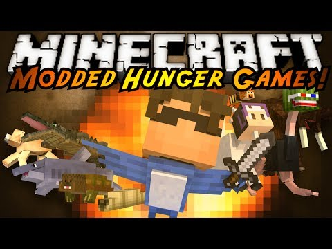 Minecraft MODDED HUNGER GAMES : MORPH MOD!