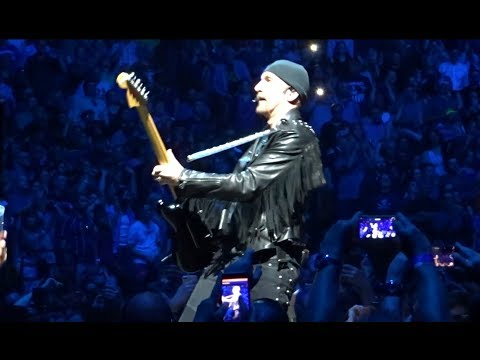 U2 - 2018 - Staring at the Sun & Pride (HD) - Boston 6-22-2018 (Section 21 Row 1 Seat 1)