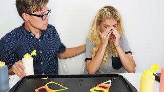 HALLOWEEN PANCAKE ART CHALLENGE GONE WRONG (EMOTIONAL) NOT CLICK BAIT!