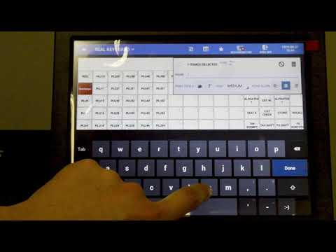 How to personalized a SAP-500 Keyboard with Sam4POS