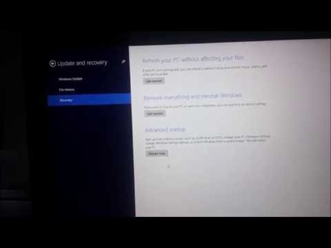 How To Acess BIOS and Enable Intel Virtualization Technology on Windows 8/8.1/10