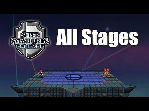 Super Smash Bros Crusade v0.9.1  - All Stages