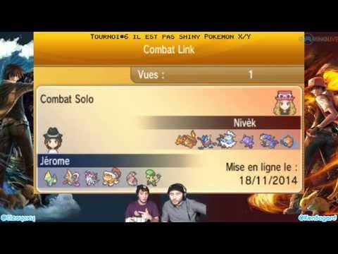 [Ep#29] Il est pas shiny - Tournoi Pokemon X/Y Online#6 part1