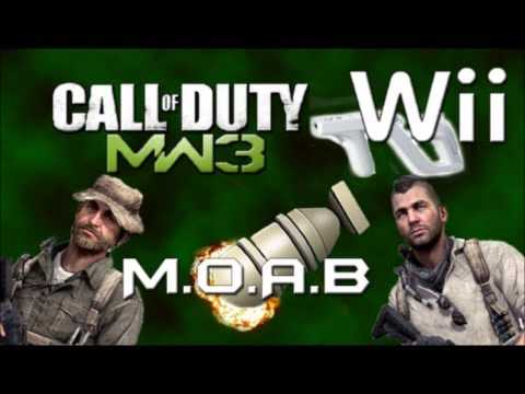MW3 WII NEW INTRO!!! MORE CODES SOON
