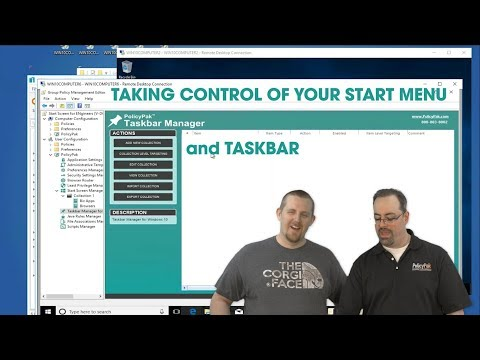 Taking Control of Your Taskbar and Start Menu with PolicyPak and PDQ Deploy