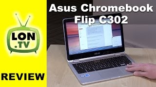 ASUS Chromebook Flip C302 Review - Core M3 12.5-Inch Touchscreen 2-in-1 C302CA-DHM4