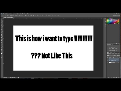 !!! How To Fix Photoshop CS6 Backwards Typing
