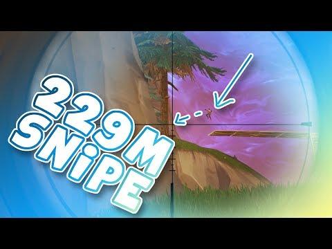 229m SNIPE | Fortnite Battle Royale