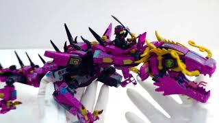 Ninjago Mech Dragon Changes Colors 👹 Lego Ninjago Movie Green Ninja Mech Dragon