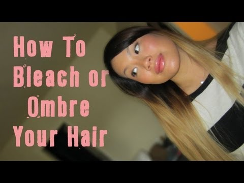 Hair Talk | How To Bleach & Ombre Dark to Blonde with No Brassiness At Home