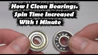 Download Fidget Toy Spinner Increase Spin Time | How to Clean Bearings for Fidget Toy Hand Spinners Video