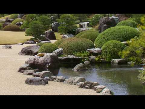 Basics of Japanese garden creation - setting stones