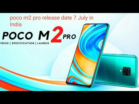 Poco m2 pro confrome release date in India 7 July