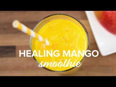 Healing Mango Smoothie Recipe