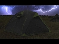 Download  ⚡️ Thunderstorm \u0026 Rain On Tent Sounds For Sleeping ~ Lightning Drops Downpour Canvas Ambience MP3,3GP,MP4