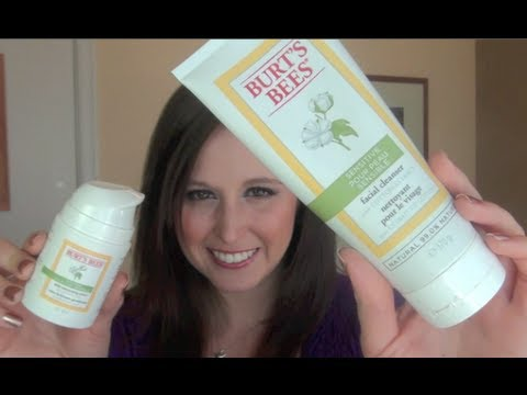Review: Burt's Bees Sensitive Skin Cleaner and Moisturizer
