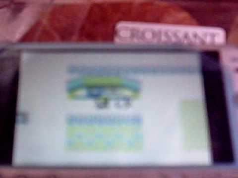 [PSP Emu] Playing GBC Game (Pokemon Yellow Version)